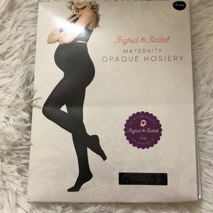 Ingrid & Isabel maternity opaque tights